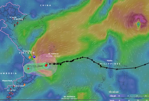 Bão số 10 suy yếu thành áp thấp nhiệt đới đi vào đất liền trong sáng 6/11, từ tối 5/11 mưa giông, gió giật ở Trung Bộ - Ảnh 1.
