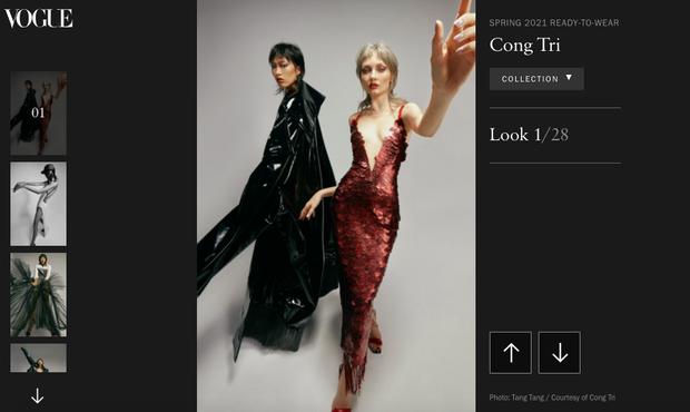 BST Xuân/Hè 2021 của Công Trí đã chễm chệ trên Vogue, style khác biệt hoàn toàn so với các BST trước đó - Ảnh 1.