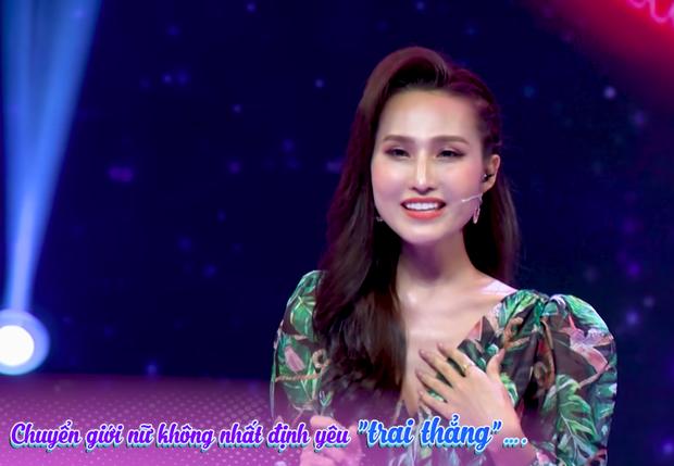 Hoài Sa gợi nhớ lùm xùm với Hương Giang ngay trên show hẹn hò: Người chuyển giới nữ như Sa có thể rung động với bất kỳ giới tính nào - Ảnh 3.