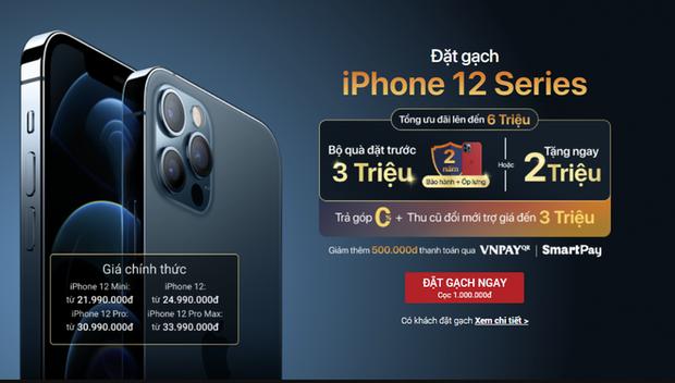 iPhone 12 mini và iPhone 12 Pro Max cho đặt trước: Gã tí hon và quái thú xuất chiến! - Ảnh 4.