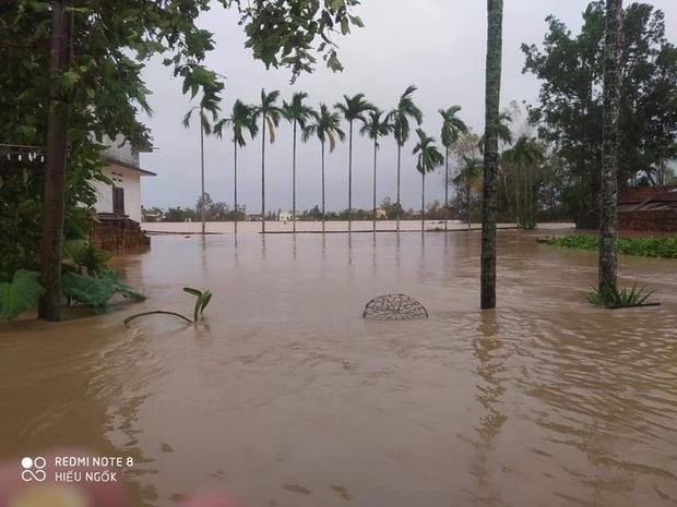 Nhiều tuyến phố ở Quảng Ngãi, Vũng Tàu ngập sâu, xe chết máy la liệt sau mưa lớn do ảnh hưởng bão số 10 - Ảnh 9.