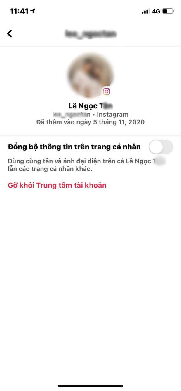 Bí kíp để không bị đồng bộ avatar giữa Facebook và Insatgram - Ảnh 5.