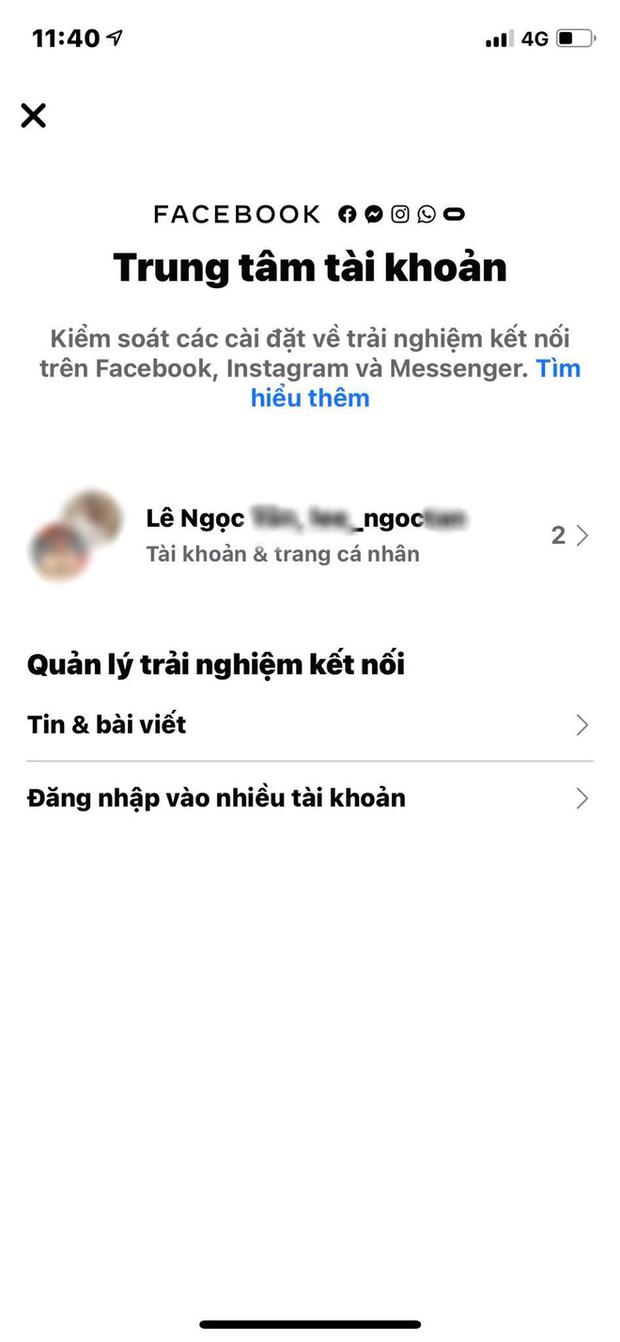 Bí kíp để không bị đồng bộ avatar giữa Facebook và Insatgram - Ảnh 3.