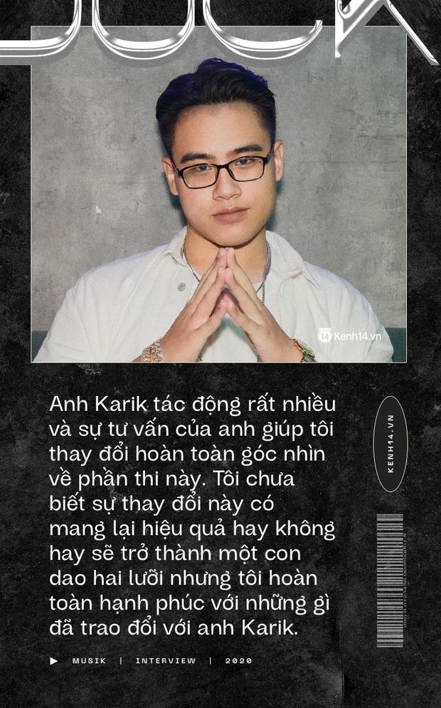 GDucky: Lời tư vấn của HLV Karik có thể là con dao hai lưỡi, đối thủ khó nuốt nhất vòng Chung kết là MCK - Ảnh 4.