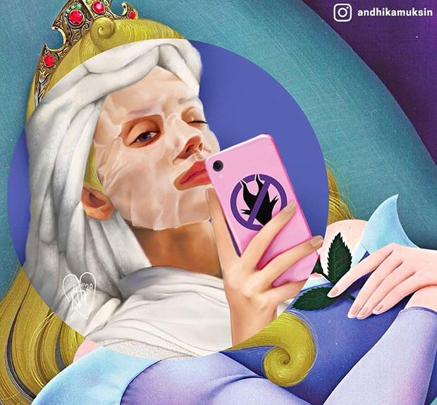 Bộ ảnh các nhân vật Disney thời 4.0 gây sốt mạng xã hội - Ảnh 8.