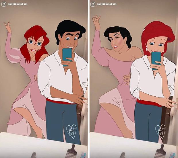 Bộ ảnh các nhân vật Disney thời 4.0 gây sốt mạng xã hội - Ảnh 3.