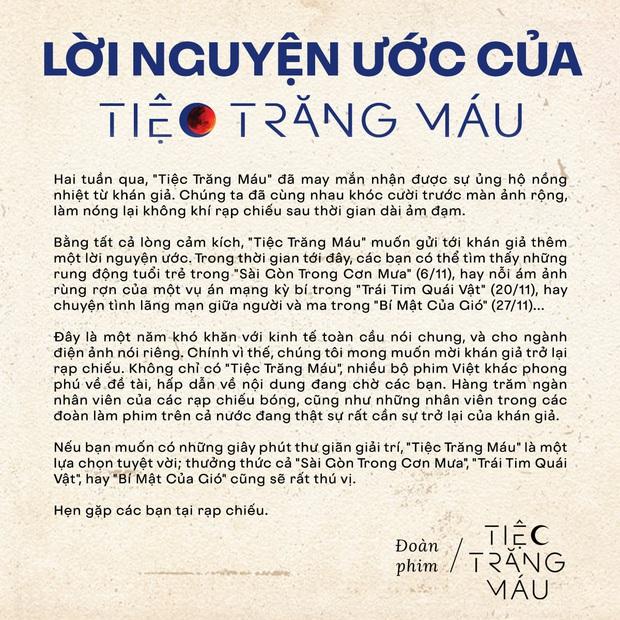 Tiệc Trăng Máu đăng đàn kêu gọi khán giả ủng hộ phim Việt mà bỏ quên Chồng Người Ta, tình chị em có bền lâu? - Ảnh 1.