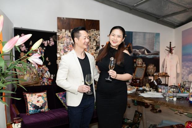 Phan Như Thảo được chồng đại gia tháp tùng, Lan Ngọc - Diễm My cùng dàn mỹ nhân Vbiz đọ sắc bất phân thắng bại tại sự kiện - Ảnh 2.