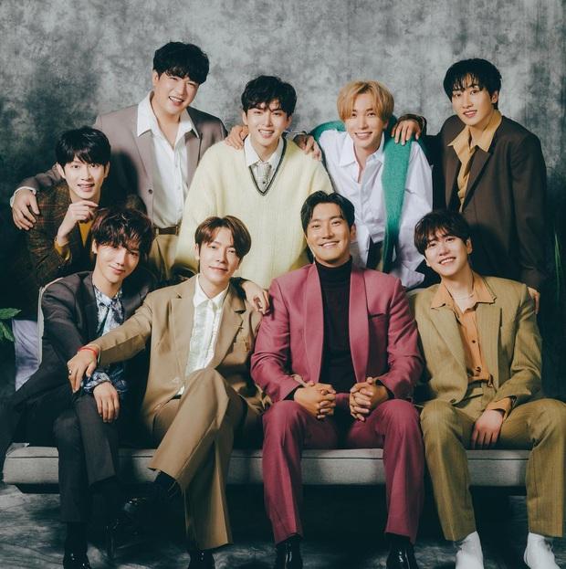 15 năm Super Junior từ hố đen tử thần thành huyền thoại Kpop: Sóng gió nào rồi cũng qua, giờ đây thời gian bên nhau sẽ là vô hạn - Ảnh 2.