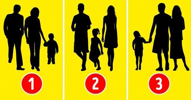 Chọn hình ảnh không giống gia đình nhất, bài test sẽ tiết lộ tính cách và điểm yếu bạn lãng quên bấy lâu nay! - Ảnh 1.