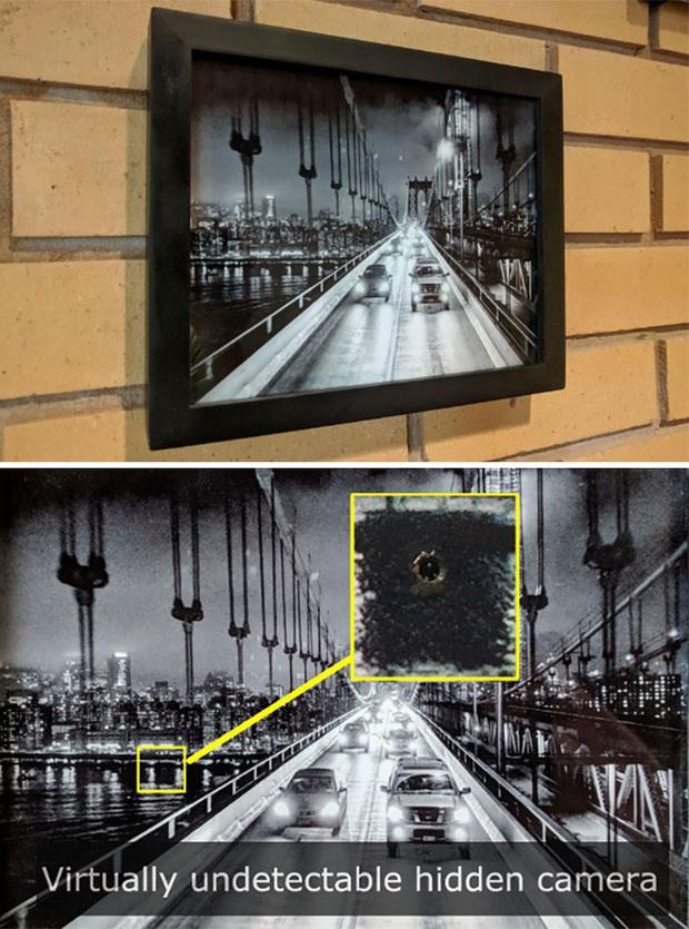 Những kiểu đặt camera quay lén hiểm hóc tới mức không ngờ - Ảnh 3.