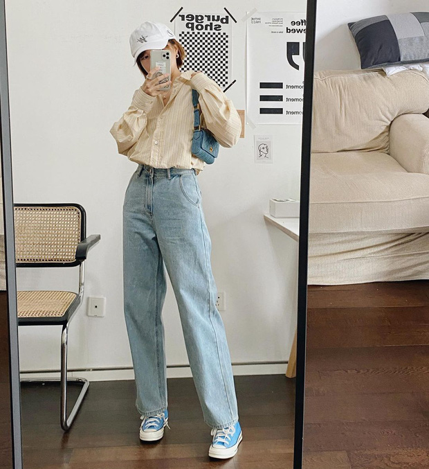 3 xu hướng quần jeans sẽ bùng nổ trong thời gian tới, chị em nên sắm hết để xua tan nỗi lo mặc xấu - Ảnh 12.