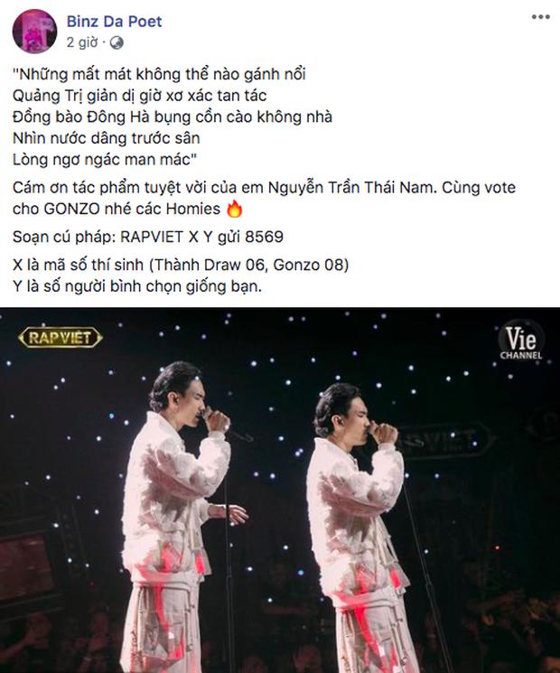 Binz kêu gọi vote khắp MXH, Suboi và Karik sốt sắng nhưng không bằng Rhymastic khoe nhắn tin bình chọn cho cả 8 thí sinh! - Ảnh 3.