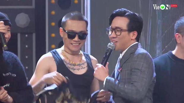 Lăng LD mở màn đêm Chung kết Rap Việt, tri ân Gang OTD khiến Ricky Star và HLV Wowy cũng lên sân khấu quẩy banh - Ảnh 5.