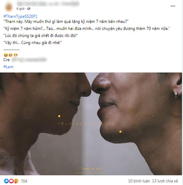 Fan Việt hét thủng nóc tố anh công hứa lèo, mất ngủ với cảnh ân ái nhà tắm quá nóng mắt ở phim đam mỹ TharnType 2 - Ảnh 12.