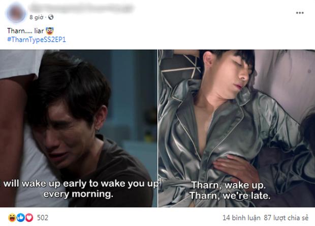 Fan Việt hét thủng nóc tố anh công hứa lèo, mất ngủ với cảnh ân ái nhà tắm quá nóng mắt ở phim đam mỹ TharnType 2 - Ảnh 3.