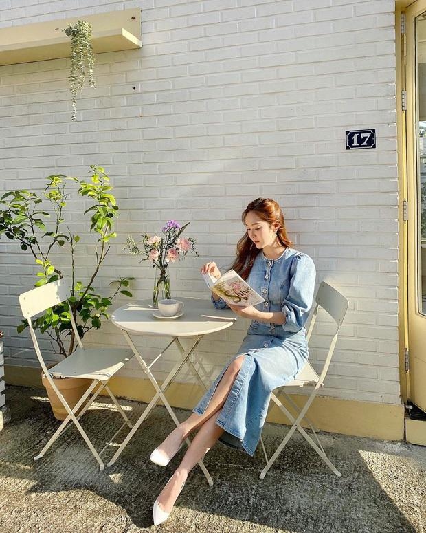 Street style của sao Hàn bước vào tháng 11: đơn giản, dễ học theo mà diện cho mùa lạnh chỉ có đẹp thôi! - Ảnh 9.