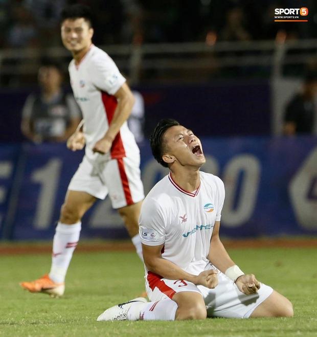 Đánh bại Sài Gòn FC với tỷ số sít sao, Viettel FC chính thức vô địch V.League 2020 - Ảnh 3.