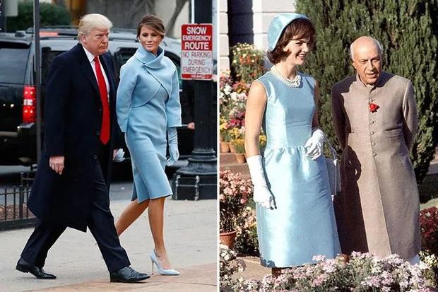 Phong cách trái ngược của 2 vị phu nhân Tổng thống: Trang nhã như bà Biden và quyến rũ như bà Trump - Ảnh 12.