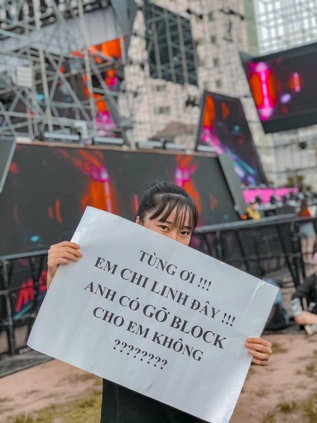 Bức ảnh gây bão: Sky cầm poster đến tận concert yêu cầu Sơn Tùng M-TP gỡ block Facebook mình vì trót dại chê idol lùn? - Ảnh 6.