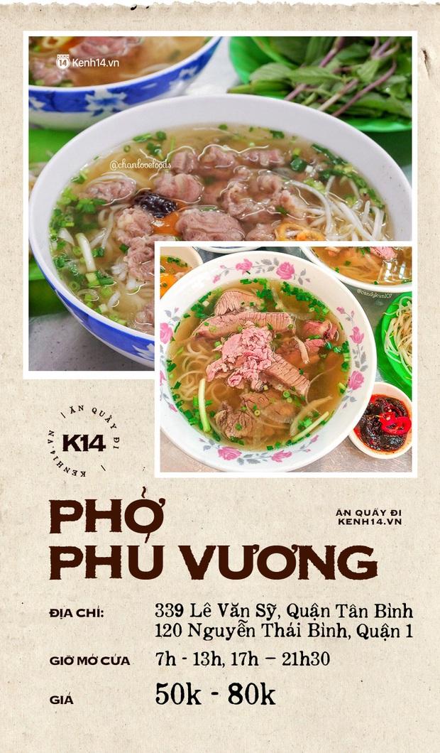 Đâu là 10 quán phở danh bất hư truyền ở Sài Gòn: Đều có mặt từ thời ông bà anh, khách đến ăn đông bất chấp thời gian - Ảnh 11.