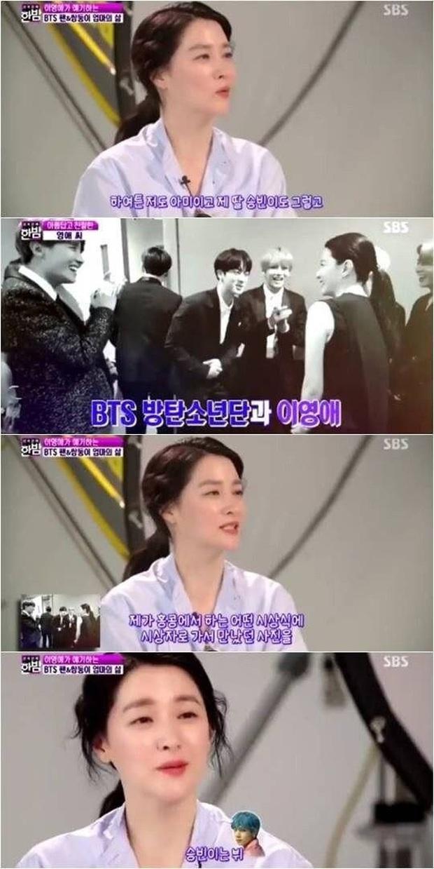 Knet tập hợp list sao Hàn là fan BTS dài đến ngỡ ngàng: Lee Young Ae, Park Min Young và cả dàn nữ thần, tài tử đến VĐV đều u mê - Ảnh 4.