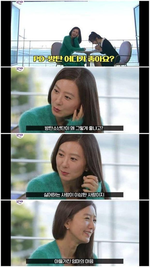 Knet tập hợp list sao Hàn là fan BTS dài đến ngỡ ngàng: Lee Young Ae, Park Min Young và cả dàn nữ thần, tài tử đến VĐV đều u mê - Ảnh 7.