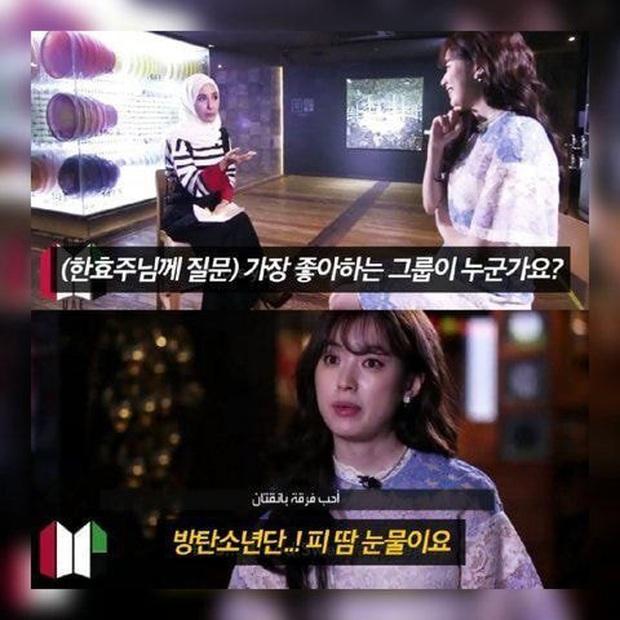 Knet tập hợp list sao Hàn là fan BTS dài đến ngỡ ngàng: Lee Young Ae, Park Min Young và cả dàn nữ thần, tài tử đến VĐV đều u mê - Ảnh 10.