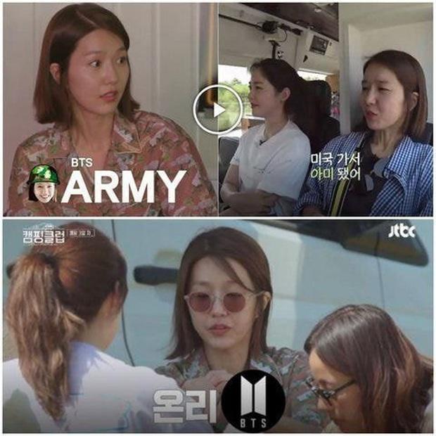 Knet tập hợp list sao Hàn là fan BTS dài đến ngỡ ngàng: Lee Young Ae, Park Min Young và cả dàn nữ thần, tài tử đến VĐV đều u mê - Ảnh 18.