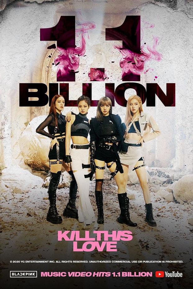 BLACKPINK có MV thứ 2 cán mốc 1,1 tỷ lượt xem với thời gian kỷ lục, BTS không có cửa sánh cùng? - Ảnh 1.