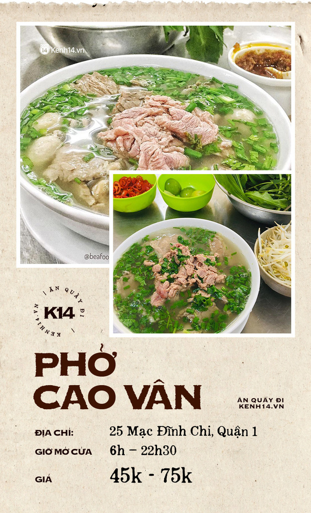 Đâu là 10 quán phở danh bất hư truyền ở Sài Gòn: Đều có mặt từ thời ông bà anh, khách đến ăn đông bất chấp thời gian - Ảnh 6.
