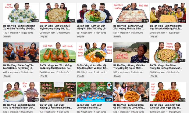 Kênh Bà Tân Vlog tuột dốc không phanh 1 tháng sau scandal của con trai, lượng view chỉ bằng 1/10 trước đây - Ảnh 2.