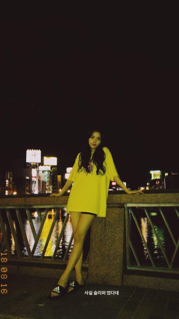 Ảnh nữ thần BLACKPINK đi dép lê, chụp tối thui ở Nhật khiến netizen ghen tị nổ mắt vì... đã xinh thì đứng bờ sông cũng đẹp - Ảnh 10.