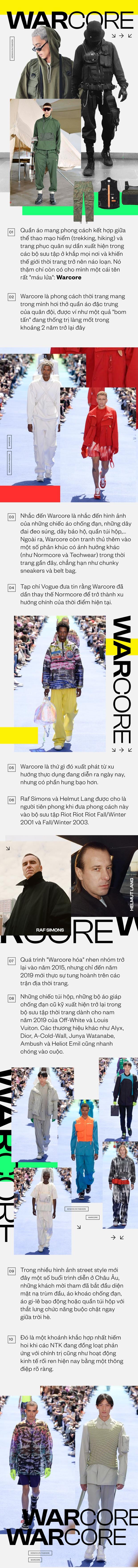 Warcore - Trào lưu mới đang dần thống trị giới thời trang thế giới - Ảnh 1.
