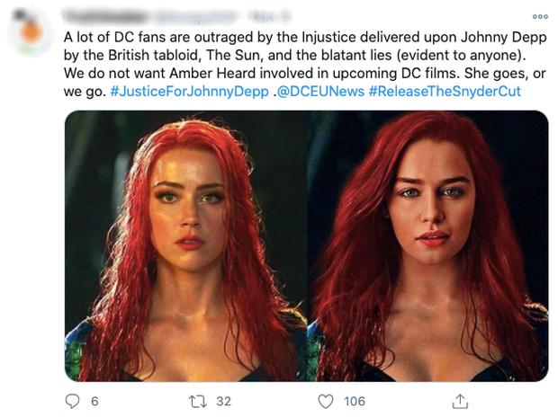 Drama: Vợ cũ Johnny Depp bị fan đòi đuổi khỏi Aquaman 2 sau khi nam tài tử mất vai ở bom tấn ngoại truyện Harry Potter  - Ảnh 3.