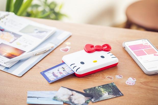 Máy in ảnh Hello Kitty siêu cute hội bánh bèo chắc sẽ mê - Ảnh 1.