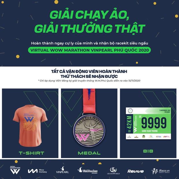 Virtual WOW Marathon Vinpearl Phú Quốc 2020: Cuộc đua ảo - cán đích thật - giải thưởng khủng! - Ảnh 3.