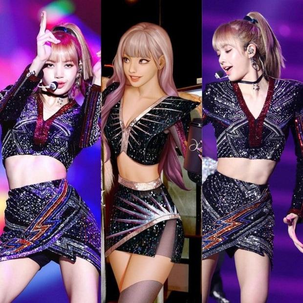 Nhân vật ảo của tân binh nhà SM làm Knet tưởng Lee Soo Man là fan Lisa (BLACKPINK), gây tranh cãi vì giống từ tóc tai cho đến outfit - Ảnh 7.