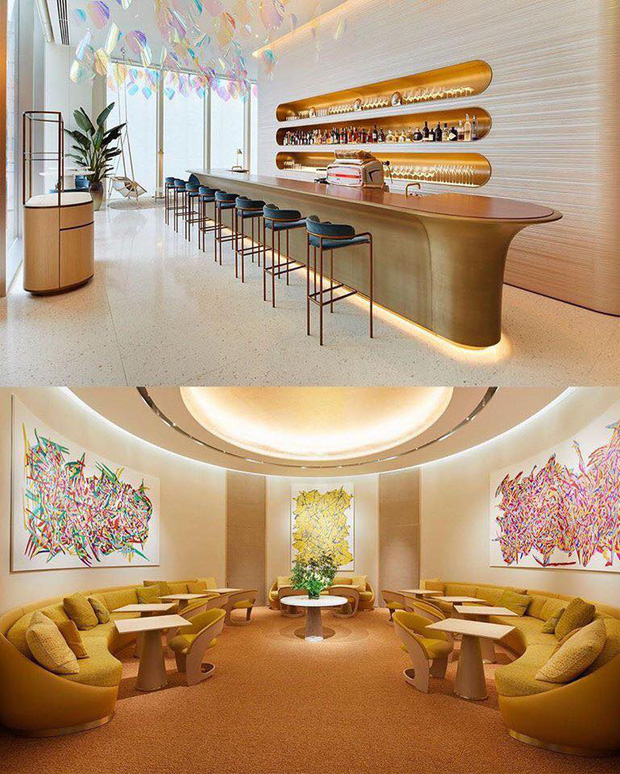 Louis Vuitton mở nhà hàng và tiệm cafe đầu tiên ở Osaka (Nhật Bản) vào trưa nay nhưng lại giới hạn khách vào mỗi tối - Ảnh 4.
