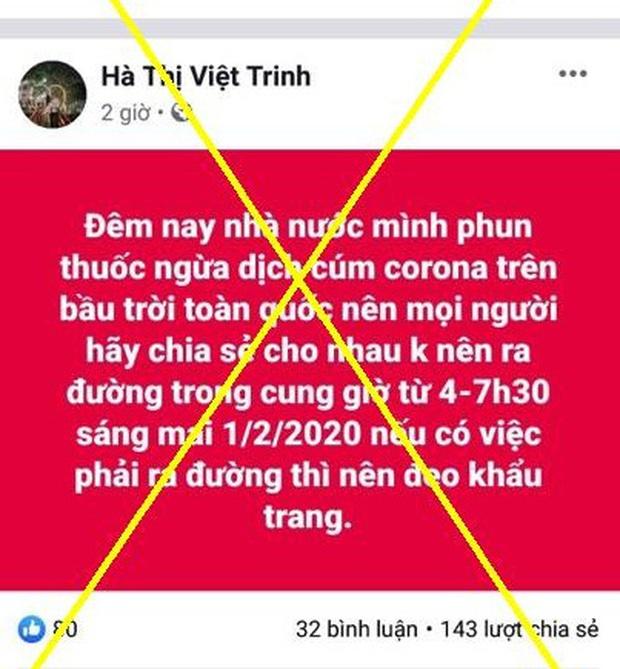 Bắc Ninh: Tung tin sai sự thật về đại dịch Corona, người đàn ông và hot girl bị phạt 25 triệu đồng - Ảnh 2.