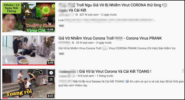 Câu view bất chấp, nhiều người làm clip giả bị nhiễm virus Corona khiến dân mạng phẫn nộ - Ảnh 1.
