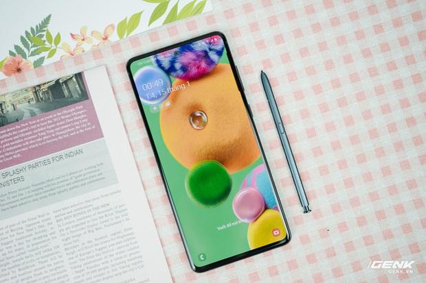 Đánh giá hiệu năng và thời lượng pin Galaxy Note10 Lite: Phiên bản rút gọn nhưng liệu có yếu sinh lý? - Ảnh 1.