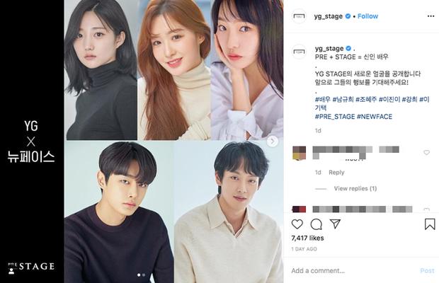 YG Entertainment tự nhiên công bố 5 tân binh ở mảng... diễn viên, fan lại bất ngờ la ó vì Jisoo (BLACKPINK) tiếp tục quay vào ô mất lượt? - Ảnh 1.