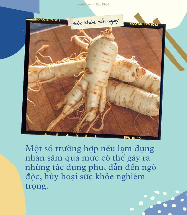 Mới đầu năm Hồ Quang Hiếu đã trúng ngộ độc vì ăn nhiều nhân sâm, bạn cần lưu ý một số điều khi dùng loại thuốc bổ này - Ảnh 3.
