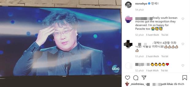 Hà Tăng, Park Seo Joon và dàn sao Hàn - Việt vỡ oà khi phim Ký sinh trùng làm nên lịch sử tại Oscar: Đỉnh cao, quá xứng đáng! - Ảnh 7.