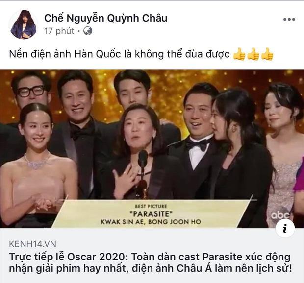 Hà Tăng, Park Seo Joon và dàn sao Hàn - Việt vỡ oà khi phim Ký sinh trùng làm nên lịch sử tại Oscar: Đỉnh cao, quá xứng đáng! - Ảnh 5.