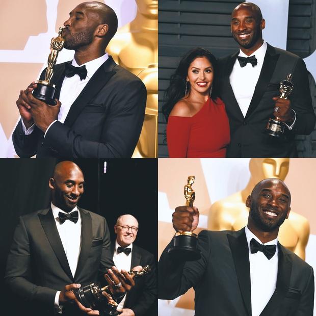 Đạo diễn Spike Lee mặc trang phục đặc biệt để tri ân huyền thoại Kobe Bryant tại lễ trao giải Oscar 2020 - Ảnh 3.