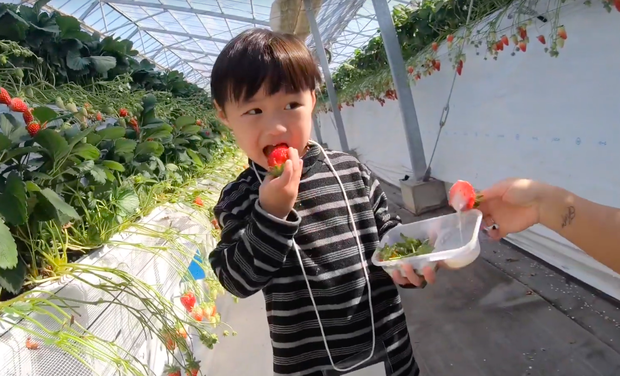"""Bất chấp quy định khắt khe của Youtube, bé Sa vẫn xuất hiện trong vlog mới của mẹ Quỳnh Trần, còn bập bẹ nói: """"Nhớ cô chú lắm"""" - Ảnh 7."""