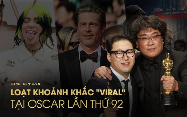 10 khoảnh khắc viral nhất đêm Oscar lịch sử: Người sợ mất tượng vàng bèn cất dưới gầm ghế, đạo diễn Bong gục sau cánh gà - Ảnh 1.