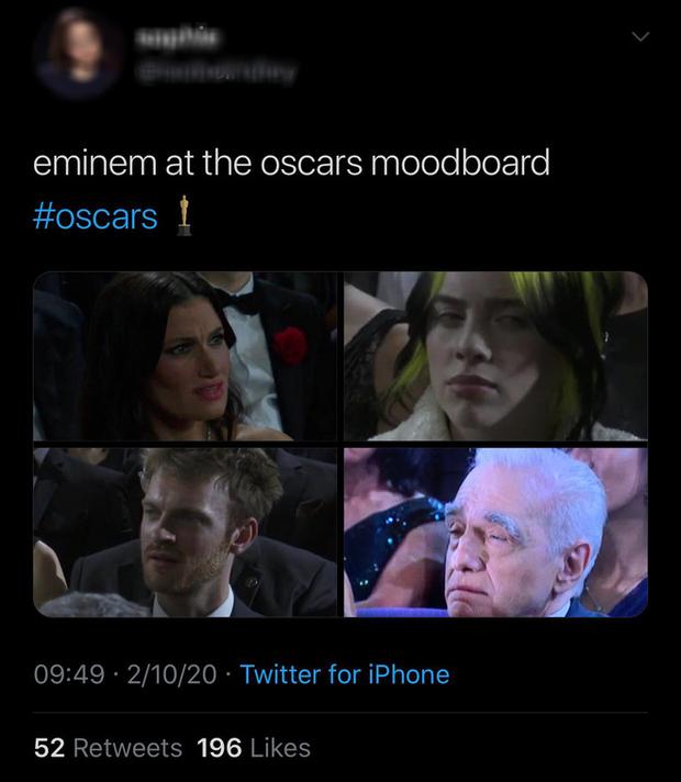 Netizen ngỡ ngàng vì Eminem xuất hiện tại Oscars: Sao lớn cỡ nào cũng thành teen quẩy với chú rapper! - Ảnh 6.